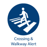 ZoneSafe Crossing & Walkway Alert logo