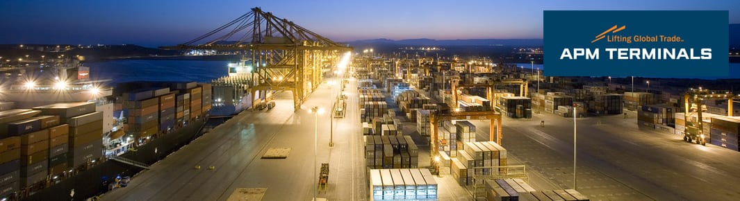 APM Terminals image and logo