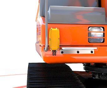 Proximity warning system components - Vehicle antenna