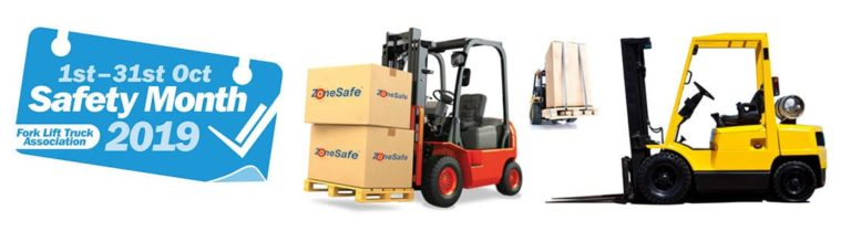 It's Forklift Safety Month. Is your workplace safe? (and how ZoneSafe can help)