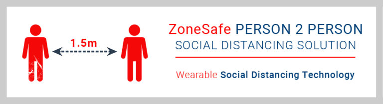 ZoneSafe P2P Social Distancing Solution