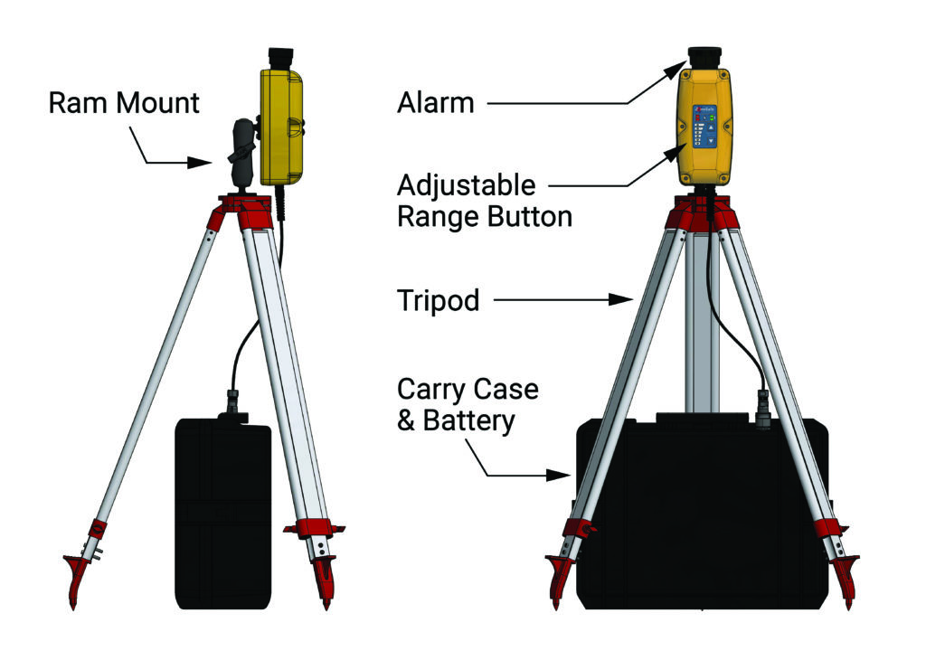 zonesafe-drop-zone-diagram-of-parts