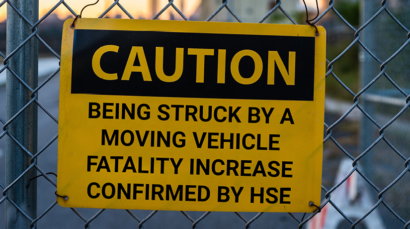 HSE Stats – Struck By Moving Vehicle Fatality Increase